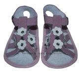 4 sandali del bambino dei fiori