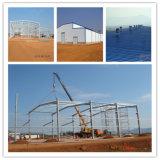 Costruzione pre Manufactured della struttura d'acciaio dal fornitore professionale