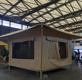 Tela incatramata Anti-UV e impermeabile del PVC per la tenda