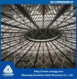 큰 경간 루핑을%s 가벼운 강철 구조물 공간 프레임