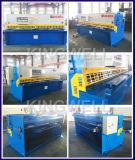 Träger-Typ Metallplattenausschnitt-Maschine des Schwingen-QC12y-4X2500
