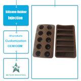 Подгонянные лотки торта Bakeware Kitchenware сопротивления качества еды продуктов силикона высокотемпературные