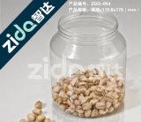 애완 동물 플라스틱 병 500ml 800ml 1000ml는 플라스틱 알루미늄 뚜껑을%s 가진 플라스틱 단지를 지운다