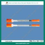 Wegwerfinsulin-Spritze mit Ce&ISO genehmigt