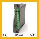 1X8 enige ABS van de Module van de Wijze Mini Optische PLC van de Vezel van de Cassette FTTH Splitser
