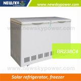 Tiefe batteriebetriebene Gefriermaschine-elektrischer Kühlraum-Stapel-Solargefriermaschine