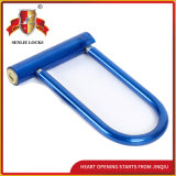 青いカラー耐久の安全U形ロック