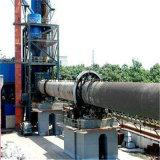 Four rotatoire calciné par colle de pierre à chaux pour l'usine active de limette