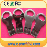 Mini silberner Metalschlüssel Mikro-USB-greller Plattenspeicher (EM513)