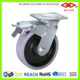 Hochleistungs-TPR Fußrolle der örtlich festgelegten Platten-(D701-34D125X45)