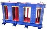 Le faisceau amorphe triphasé de cinq fléaux comprennent serrer l'élément du transformateur sec