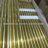 "2-1/2 "" X1.2mm Seamless Brass Round Tube für Heating"