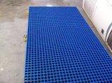 FRP Rejilla de plástico de fibra de vidrio suelo de rejilla / fibra de vidrio Escurrir Reja