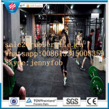 Non-Slip Anti-Fatiga Resiliente Durable Crossfit Fitness Gym Revestimento de borracha 1m * 1m