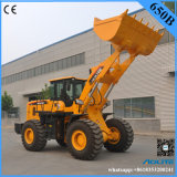 Chargeur Zl50 de roue de 5 de tonne de la Chine prix usine avec le manche