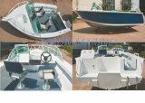 De Vissersboot van het aluminium (Runabout 500)