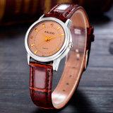 Золото Wristwatch повелительниц способа Caloxi и цветы Ss дискретные