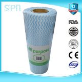 Grande Roll di Nonwoven Fabric Multi Purpose Cleaning Wipe/Tissue/Cloth