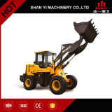 構築機械装置1.8tonsの中国のカントン市で表わす小さい車輪のローダー