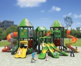 De nieuwe OpenluchtDia van de Apparatuur van de Speelplaats van het Pretpark van het Ontwerp Openlucht voor Jonge geitjes