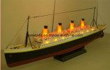 Regalos exquisitos Titanic RC Velero Yate de control remoto con luces