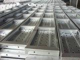 Materiali da costruzione, plancia d'acciaio, plancia di alluminio