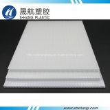 El panel polivinílico blanco del ópalo del plástico de la depresión del carbonato