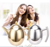 Coffette à thé en acier inoxydable 1500ml en acier inoxydable (CS-025)