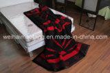 Manta pura de lana tejida de las lanas de Virgen