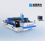 Unterschiedliches Faser-Laser-Metallblatt-Ausschnitt-Maschinen-Funktionsmetallblatt und Rohr-Scherblock