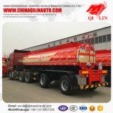 Do aço inoxidável dos líquidos do armazenamento do petroleiro reboque corrosivo Semi