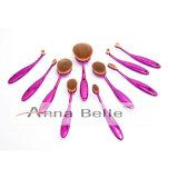 El sombreador de ojos cosmético profesional del polvo del conjunto de cepillos de la herramienta del maquillaje se ruboriza cepillo para el maquillaje