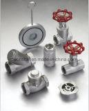 ハンドルはセリウム、ISOが付いているゲート弁を証明する車輪作動させる