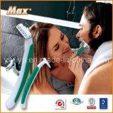 Cuidado personal de la lámina gemela del acero inoxidable que afeita la maquinilla de afeitar (LY-2421)