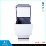 Mingxiu 사무용 가구 금속 4 서랍 파일 캐비넷/색인 카드 파일 캐비넷