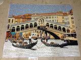 Mosaico artistico, maschera murala del mosaico di arte del mosaico (HMP806)