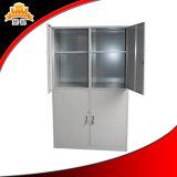 Tür-Kleidung-Schrank des einfache Auslegung-Stahl-4