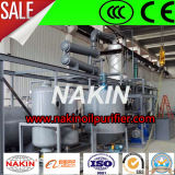 Pétrole de rebut réutilisant la machine, usine de base de raffinerie de pétrole de vide