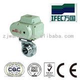스테인리스 위생 전기 나비 벨브 (IFECBV100004)
