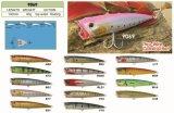 un premier fil fait sur commande d'attrait de pêche par attrait de pêche de Popper