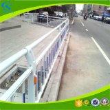Valla de seguridad galvanizada costeada PVC