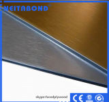 El panel de pared compuesto de aluminio para el material de construcción de la construcción