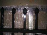 Sicherheits-Garnison-Zaun täfelt beschichtete Fleck-schwarze das Puder des Pfosten-65mm X65mm X 3000mm