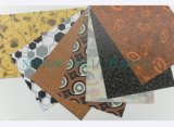 PVC装飾的な革、PVC家具の革、ビニールの家具製造販売業の革