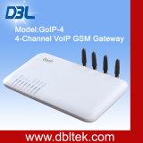 DBL GOIP-4 VoIP GSM Gateway con 4 puertos de la tarjeta SIM
