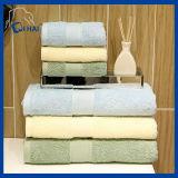 Conjuntos 100% de la toalla de la toalla de baño del color sólido del algodón (QH9007)
