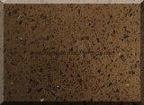 Камень кварца Южной Африки сверкная темного Brown