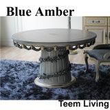 De blauwe Amber Klassieke Eettafel van de Eetkamer van de Stijl (ba-1202)