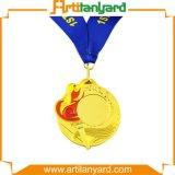 Medaglia personalizzata del metallo con la riunione di sport