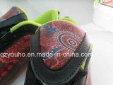 Bling colore sapatas das mulheres dos homens do futebol do futebol
